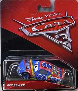 MATTEL CARS 3 シングル REX REVLER ブリスター&台紙傷み特価