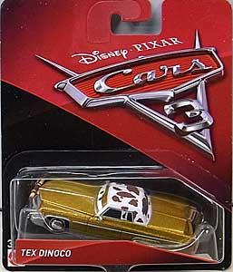 MATTEL CARS 3 シングル TEX DINOCO ブリスターハガレ特価