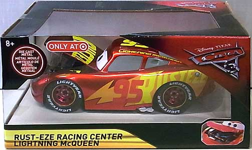 JADA TOYS CARS 3 METALS DIE CAST 1/24スケール RUST-EZE RACING CENTER LIGHTNING McQUEEN