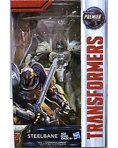HASBRO 映画版 TRANSFORMERS: THE LAST KNIGHT DELUXE CLASS STEELBANE