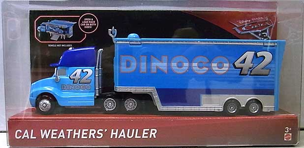 MATTEL CARS 3 HAULER CAL WEATHERS' HAULER