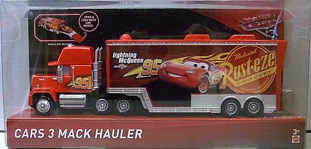 MATTEL CARS 3 HAULER CARS 3 MACK HAULER