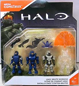 MEGA CONSTRUX HALO UNSC BRUTE SKIRMISH 4PACK
