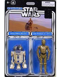 STAR WARS USAディズニーテーマパーク限定 2PACK R2-D2 & C-3PO 台紙傷み特価