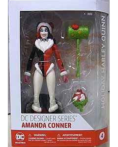 DC COLLECTIBLES DC COMICS DESIGNER SERIES AMANDA CONNER HOLIDAY HARLEY QUINN