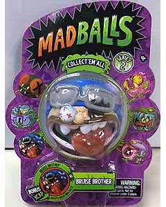 JUST PLAY MADBALLS SERIES 2 BRUISE BROTHER パッケージ傷み特価