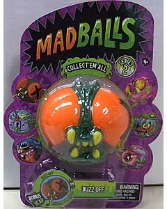JUST PLAY MADBALLS SERIES 2 BUZZ OFF パッケージ傷み特価