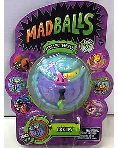 JUST PLAY MADBALLS SERIES 2 LOCK LIPS パッケージ傷み特価