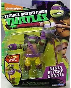 PLAYMATES NICKELODEON TEENAGE MUTANT NINJA TURTLES ベーシックフィギュア 2017 NINJA STRIKE DONNIE