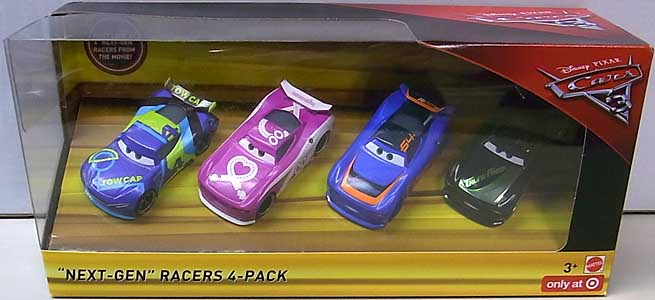 MATTEL CARS 3 NEXT-GEN RACERS 4PACK
