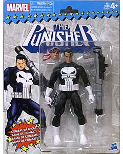 HASBRO MARVEL RETRO 6-INCH COLLECTION PUNISHER ブリスター傷み特価