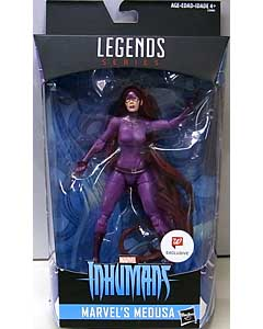 HASBRO MARVEL LEGENDS 2017 WALGREENS限定 INHUMANS MEDUSA パッケージ傷み特価