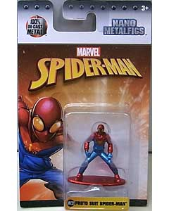JADA TOYS MARVEL NANO METALFIGS PROTO SUIT SPIDER-MAN