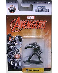 JADA TOYS MARVEL NANO METALFIGS WAR MACHINE