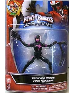 USA BANDAI POWER RANGERS NINJA STEEL 5インチアクションフィギュア TRAINING MODE PINK RANGER 台紙傷み特価