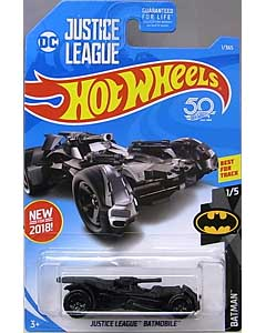 MATTEL HOT WHEELS 1/64スケール 2018 BATMAN JUSTICE LEAGUE BATMOBILE #001