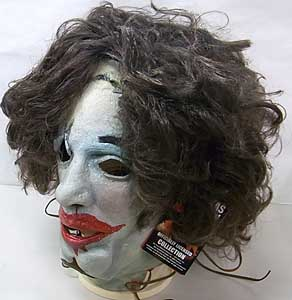 TRICK OR TREAT STUDIOS ラバーマスク THE TEXAS CHAINSAW MASSACRE LEATHERFACE [PRETTY LADY MASK]