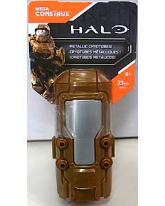 MEGA CONSTRUX HALO METALLIC COPPER CRYOTUBE UNSC SPARTAN MARK VI