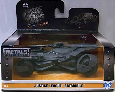 JADA TOYS JUSTICE LEAGUE METALS DIE CAST 1/32スケール BATMOBILE パッケージワレ特価