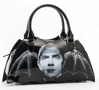 ROCK REBEL BAT SHAPED HANDBAG DRACULA