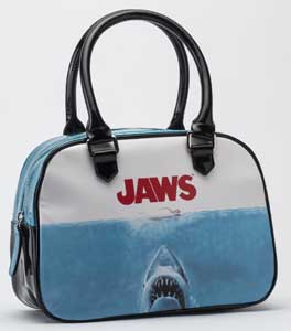 ROCK REBELS GLITTER HANDBAG JAWS