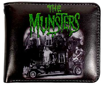 ROCK REBEL BILLFOLD THE MUNSTERS