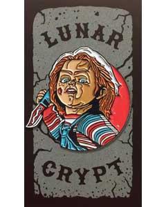 LUNAR CRYPT ENAMEL PIN CHUCKY