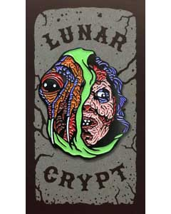 LUNAR CRYPT ENAMEL PIN I'M GETTING BETTER