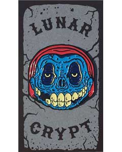 LUNAR CRYPT ENAMEL PIN CRIMSON CREEP