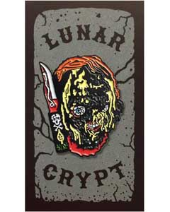 LUNAR CRYPT ENAMEL PIN CHUCKY [MELTED GUY]