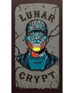 LUNAR CRYPT ENAMEL PIN HE LIVES!