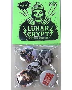 LUNAR CRYPT BOOTLEG BUTTONS THE TEXAS CHAINSAW MASSACRE