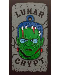 LUNAR CRYPT ENAMEL PIN WEAR-A-WEIRDO MONSTER