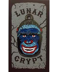 LUNAR CRYPT ENAMEL PIN WEAR-A-WEIRDO GORILLA