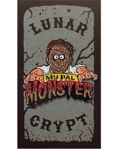 LUNAR CRYPT ENAMEL PIN MY PAL MONSTER LEATHERFACE