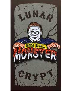 LUNAR CRYPT ENAMEL PIN MY PAL MONSTER MICHAEL MYERS