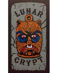 LUNAR CRYPT ENAMEL PIN WEAR-A-WEIRDO WOLFMAN