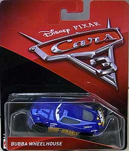MATTEL CARS 3 シングル BUBBA WHEELHOUSE