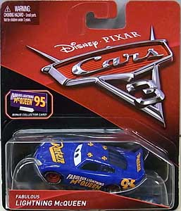 MATTEL CARS 3 シングル FABULOUS LIGHTNING McQUEEN [BONUS COLLECTOR CARD]