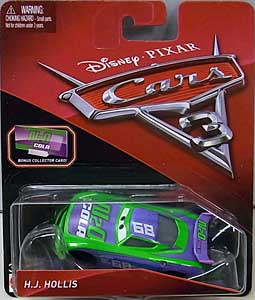 MATTEL CARS 3 シングル H.J. HOLLIS [BONUS COLLECTOR CARD]