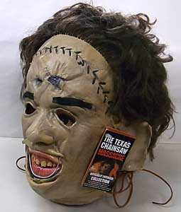 TRICK OR TREAT STUDIOS ラバーマスク THE TEXAS CHAINSAW MASSACRE LEATHERFACE