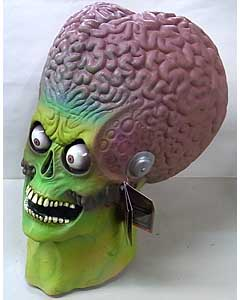 TRICK OR TREAT STUDIOS ラバーマスク MARS ATTACKS SOLDIER MARTIAN