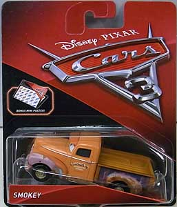 MATTEL CARS 3 シングル SMOKEY [LONG BED VARIANT]
