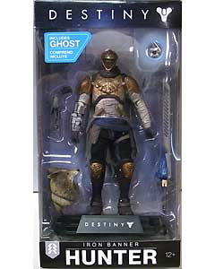 McFARLANE TOYS DESTINY COLOR TOPS 7インチアクションフィギュア WALMART限定 IRON BANNER HUNTER [MILLION MILLION SHADER]