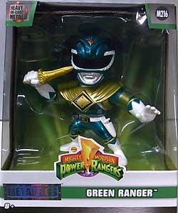 JADA TOYS METALS DIE CAST 4インチフィギュア POWER RANGERS MIGHTY MORPHIN GREEN RANGER [M216]