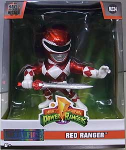 JADA TOYS POWER RANGERS MIGHTY MORPHIN METALS DIE CAST 4インチフィギュア RED RANGER [M334]