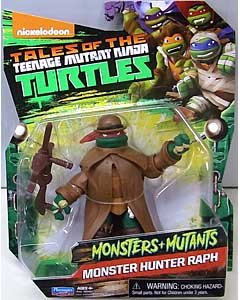 PLAYMATES NICKELODEON TALES OF THE TEENAGE MUTANT NINJA TURTLES ベーシックフィギュア 2017 MONSTERS + MUTANTS MONSTER HUNTER RAPH