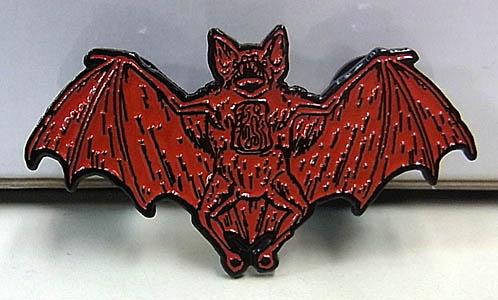 LUNAR CRYPT ENAMEL PIN GORY GREG BAT
