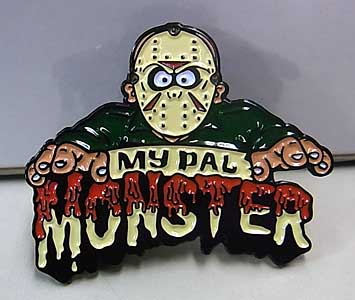 LUNAR CRYPT ENAMEL PIN MY PAL MONSTER JASON