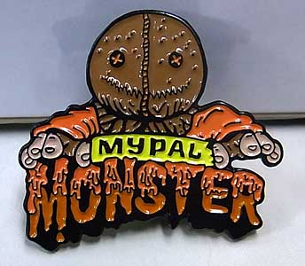 LUNAR CRYPT ENAMEL PIN MY PAL MONSTER SAM